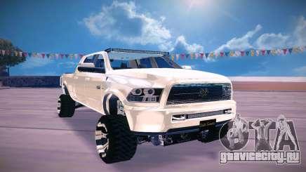 Dodge Ram 2500 2012 для GTA San Andreas