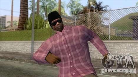 New Ballas Skin 3 для GTA San Andreas