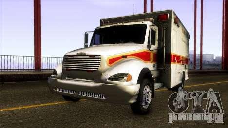 Freightliner M2 Ambulance для GTA San Andreas