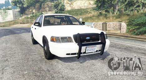 Ford Crown Victoria Unmarked CVPI v2.0 [replace] для GTA 5