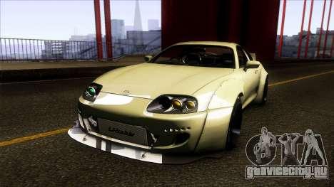 Toyota Supra Rocket Bunny 1993 для GTA San Andreas