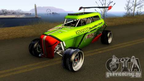 Hot Wheels Rip Rod 2012 для GTA San Andreas