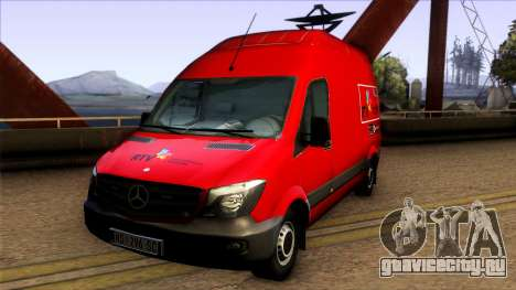 Mercedes Benz Sprinter Radio-televizija Vojvodin для GTA San Andreas