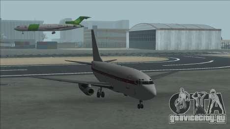 Боинг 737-100 Дженет Авиакомпаниях для GTA San Andreas