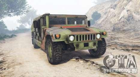 HMMWV M-1116 Unarmed Woodland [replace] для GTA 5