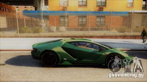 Lamborghini Centenario LP770-4 v2 для GTA 4