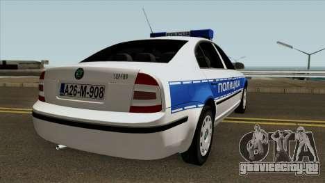 Skoda SuperB Policija Republike Srpske для GTA San Andreas