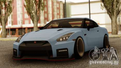 Nissan GTR Nismo для GTA San Andreas