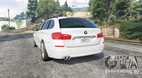 BMW 525d Touring (F11) 2015 (US) v1.1 [replace]