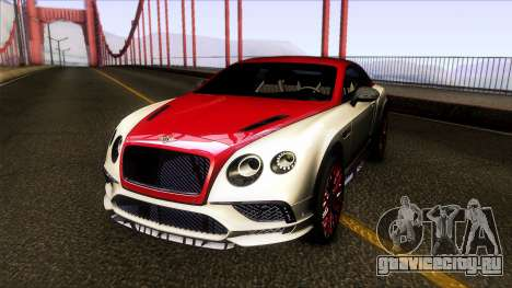 Bentley Continental SS 17 для GTA San Andreas