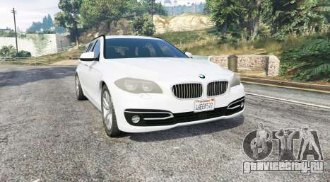 BMW 525d Touring (F11) 2015 (US) v1.1 [replace] для GTA 5
