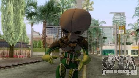 SMITE - Galactic Invader Skin для GTA San Andreas