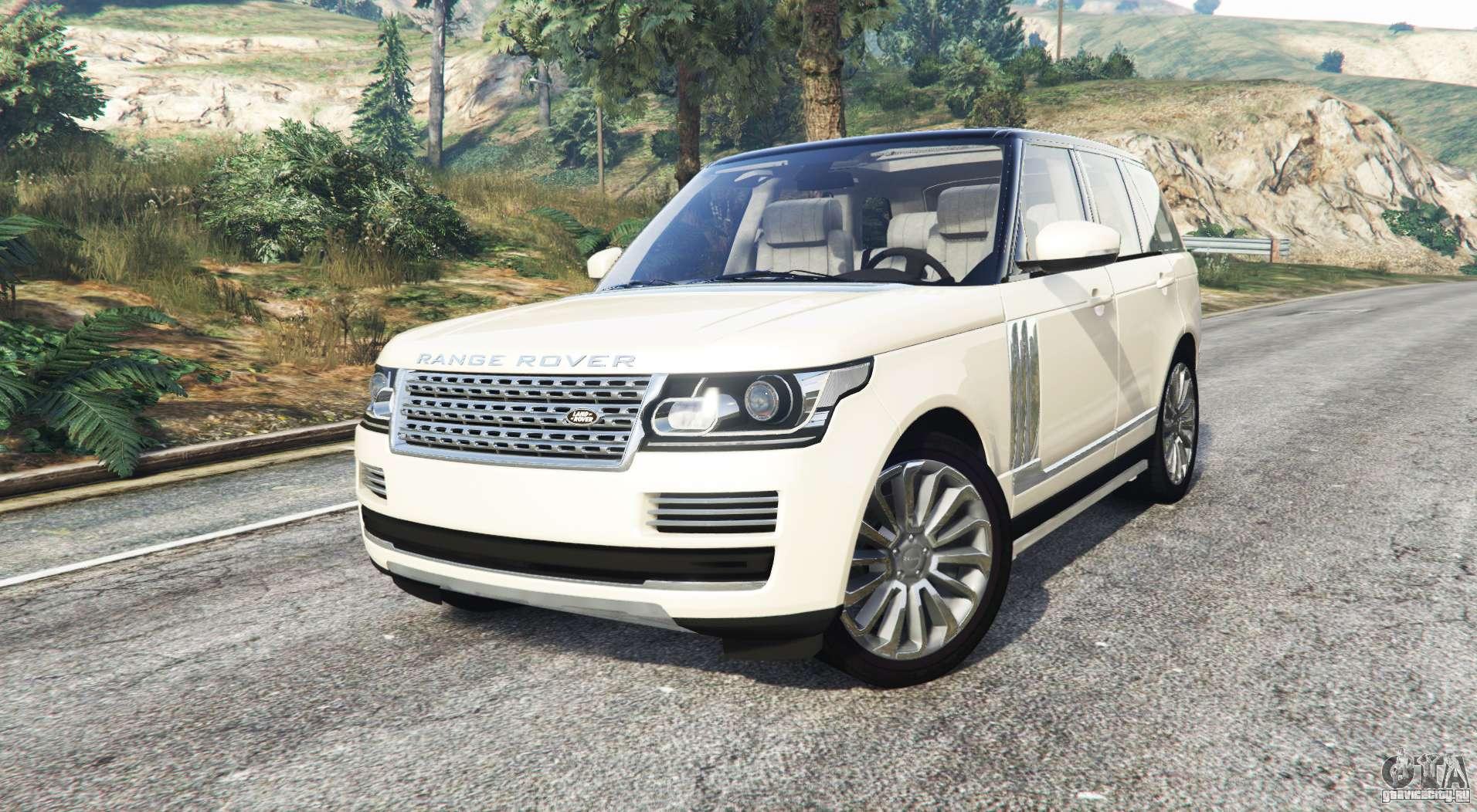 land rover range rover vogue 2013 v1 3 replace gta 5. Black Bedroom Furniture Sets. Home Design Ideas