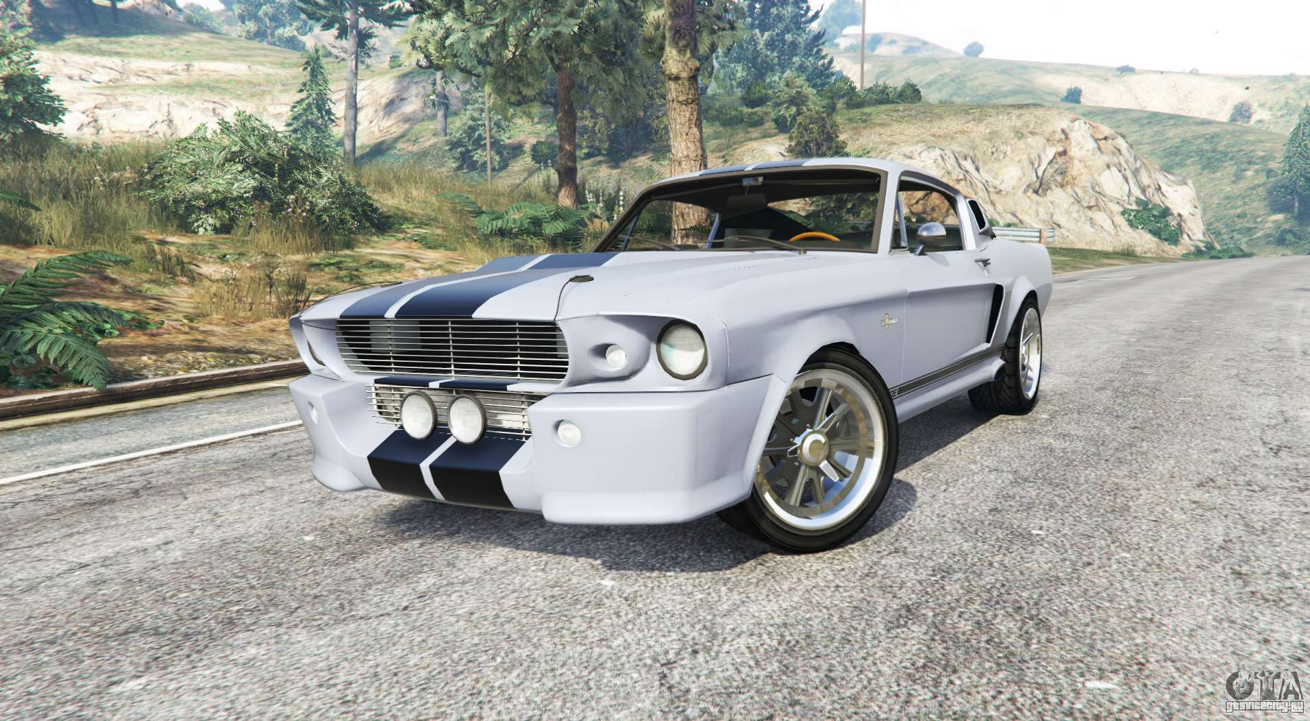 ford shelby mustang gt500 eleanor 1967 replace gta 5. Black Bedroom Furniture Sets. Home Design Ideas
