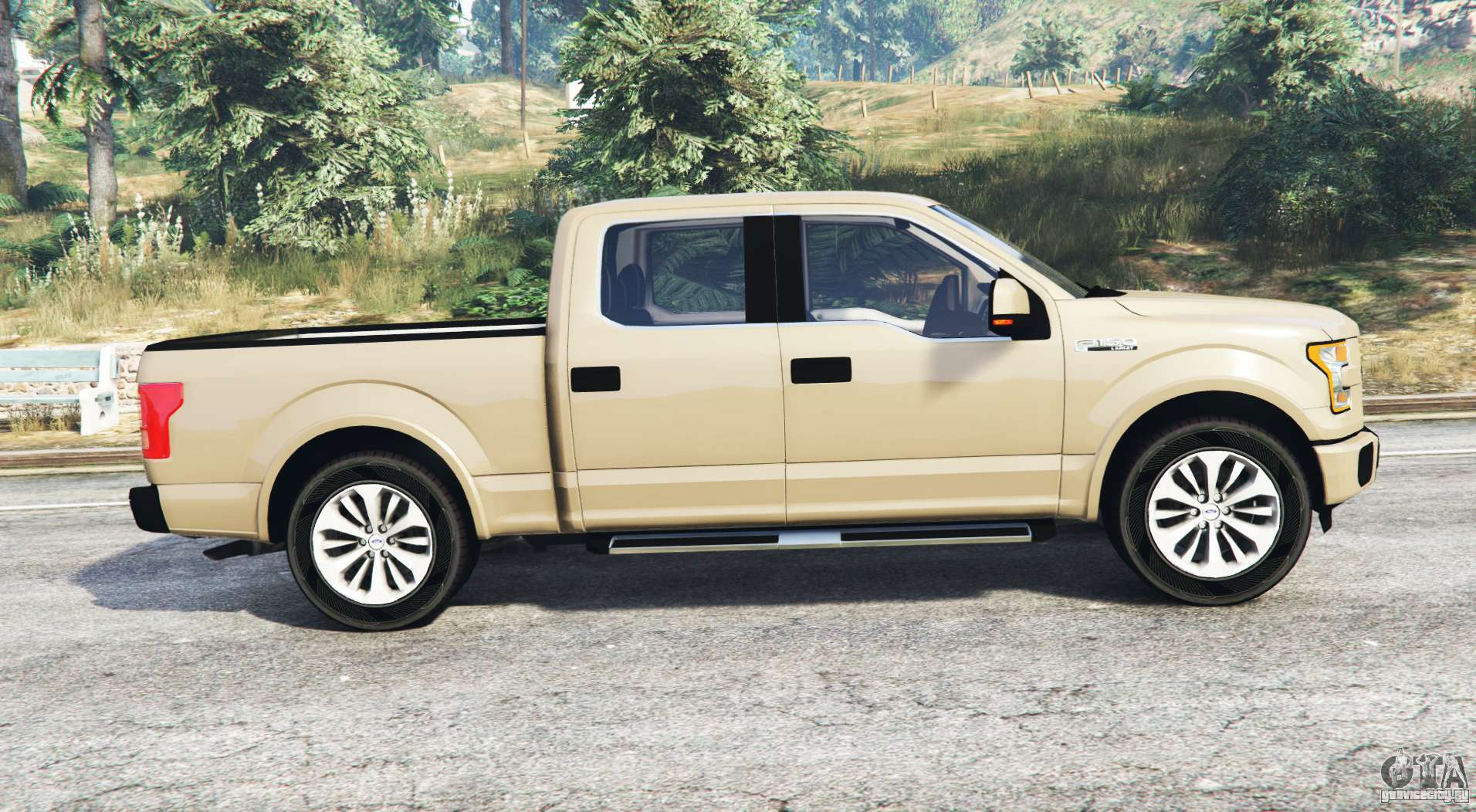 ford f 150 lariat supercrew 2015 v1 1 replace gta 5. Black Bedroom Furniture Sets. Home Design Ideas