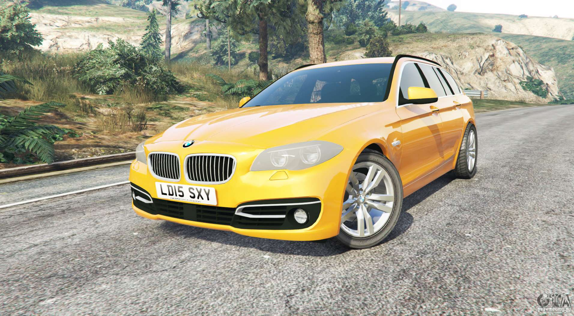 bmw 525d touring f11 2015 uk v1 1 replace gta 5. Black Bedroom Furniture Sets. Home Design Ideas