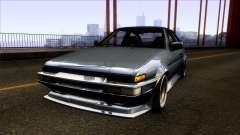 Toyota Trueno AE86 1986 для GTA San Andreas