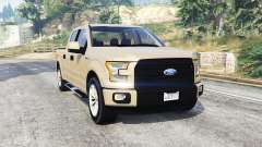 Ford F-150 Lariat SuperCrew 2015 v1.1 [replace] для GTA 5