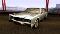 Driver PL Chauffeur Sedan для GTA San Andreas