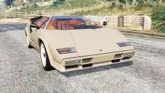 Lamborghini Countach LP5000 1988 v1.3 [replace] для GTA 5
