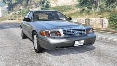 Ford Crown Victoria 2001 police [replace] для GTA 5