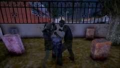 Драка призраков для GTA San Andreas
