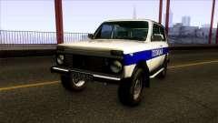 Lada Niva 4X4 Policija Republika Srpska для GTA San Andreas