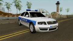 Skoda SuperB Policija Republike Srpske для GTA San Andreas