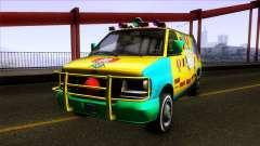 GTA V Vapid Clown Van для GTA San Andreas
