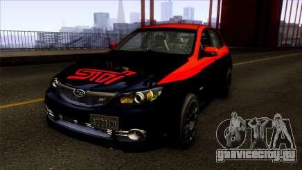 Subaru Impreza WRX STi Twin Turbo для GTA San Andreas