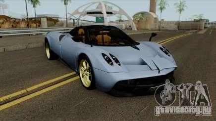 Pagani Huayra 2013 Extra Spoiler для GTA San Andreas
