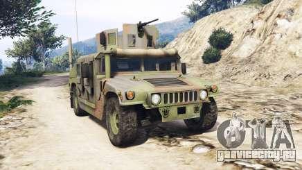 HMMWV M-1116 Woodland v1.1 [replace] для GTA 5