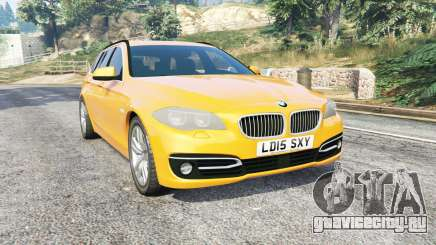BMW 525d Touring (F11) 2015 (UK) v1.1 [replace] для GTA 5