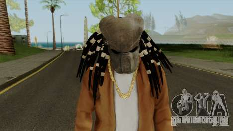 Predator Mask From Mortal Kombat X для GTA San Andreas