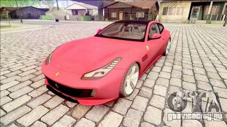 Ferrari GTC4 Lusso 70th Anniversary 2016 IVF для GTA San Andreas