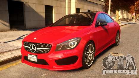 2014 Mercedes-Benz CLA260 v1.1 для GTA 4