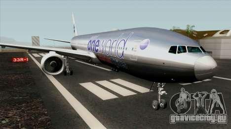 Boeing 777-200ER American Airlines - Oneworld для GTA San Andreas