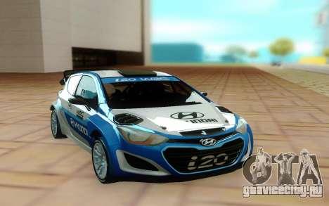 Hyundai i20 для GTA San Andreas
