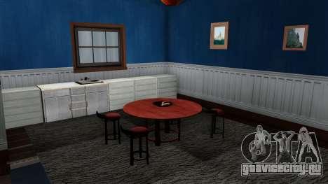 HD интерьер дома Santa Maria Beach для GTA San Andreas
