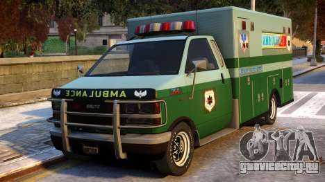 Ambulance Modification для GTA 4