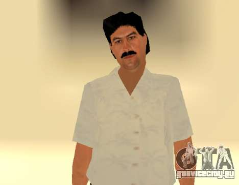 Пабло Эмилио Эскобар by MFR для GTA San Andreas