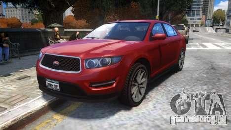 Vapid Torrence (Civilian Interceptor) для GTA 4