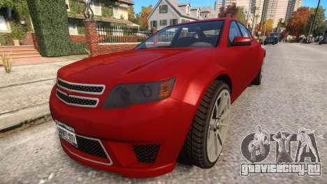 Cheval Fugitive для GTA 4