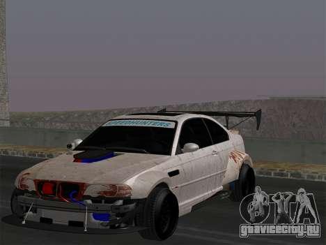 BMW M3 E46-DAYZ для GTA San Andreas