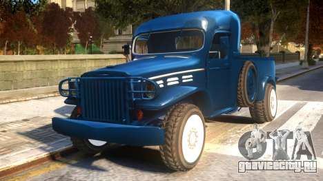 World War II Pick Up для GTA 4