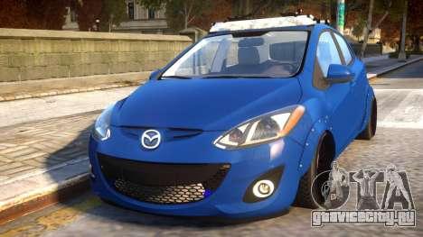 Mazda 2 DRIFT Car для GTA 4