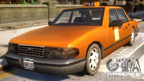 GTA III Taxi for IV v1.0 для GTA 4