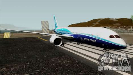Boeing 787-8 Boeing House Colors для GTA San Andreas