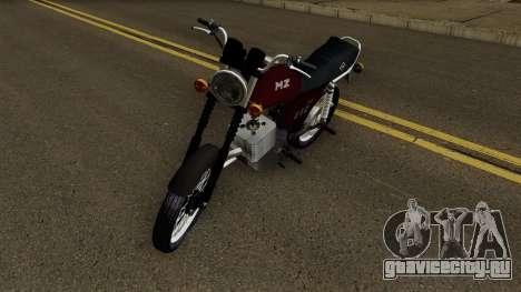 MZ ETZ 150 для GTA San Andreas