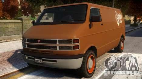 Bravado Youga Commercial Van для GTA 4